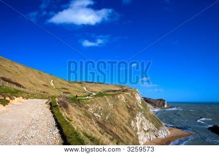 Jurrasic Coastline Dorset Uk