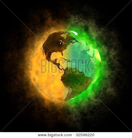 2012-Transformation der Erde Amerika