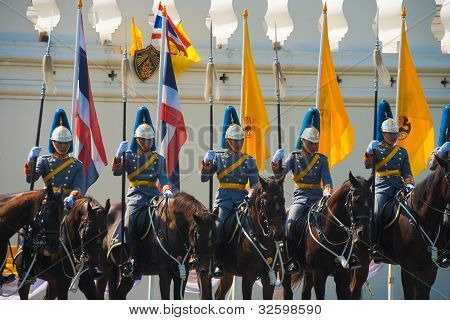Royal Mounted Guards Row