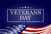 Veterans Day Background. Template For Veterans Day Design. Vector Illustration. poster