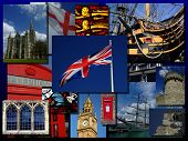 Montage Of British Sights