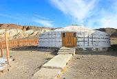pic of ulaanbaatar  - Yurt Stone of white light - JPG
