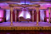 image of vedic  - Image of a colorful Indian wedding mandap - JPG