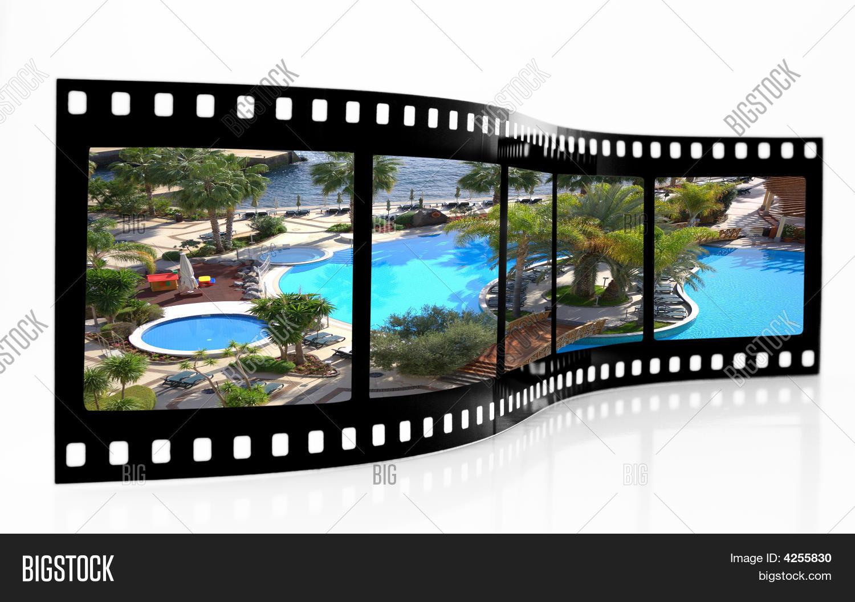Swimming Pool Film Strip Stock Photo Stock Images Bigstock