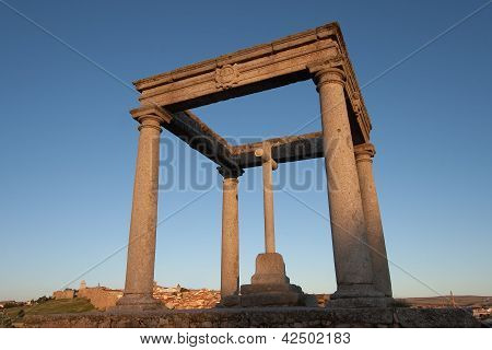 The Four Columns, Avila, Castilla Y Leon, Spain