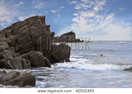 Coast of Atlantic Ocean