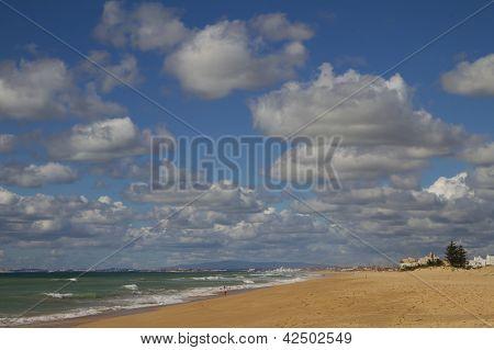 Faro beach