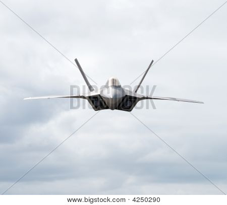 Fighter Plane Heading Towards The Camera