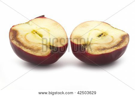 Meio da deterioração da Apple