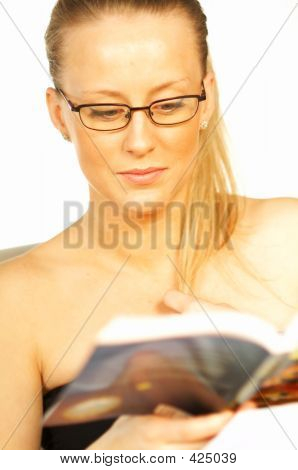 Women Reading A Book