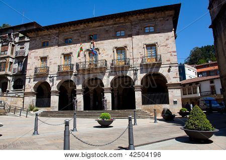 Council Of Balmaseda, Bizkaia, Basque Country,  Spain