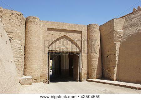 City wall, Khiva, Uzbekistan