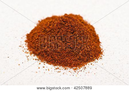 Paprika on a kitchen bench
