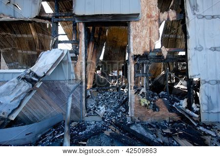 Burnt Doorway