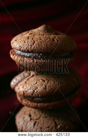 Chocolate Cookies  Pyramid
