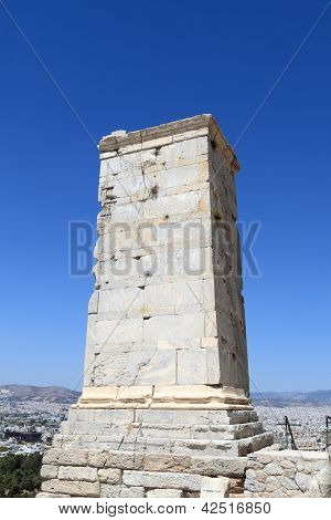 View Of Agrippa Tower Of The Acropolis Propylaea