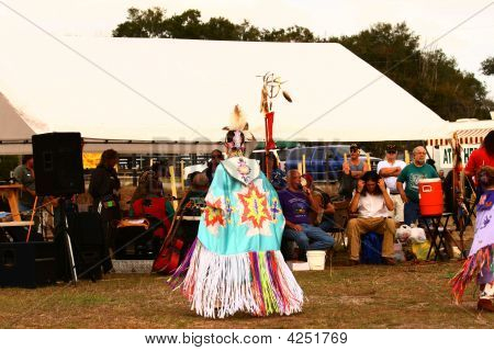 Native American Fancy Shaw Dancer
