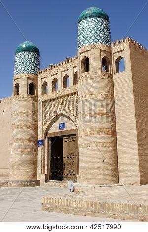 Fortress, Khiva, Silk Road, Uzbekistan