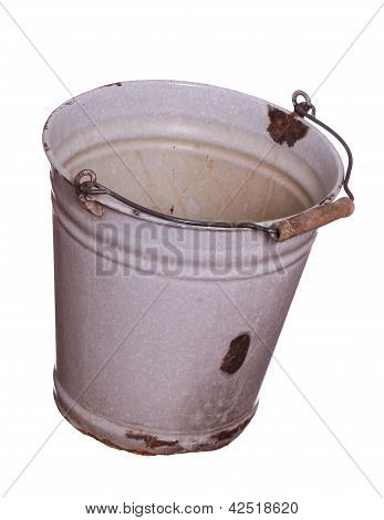 Old Empty Bucket