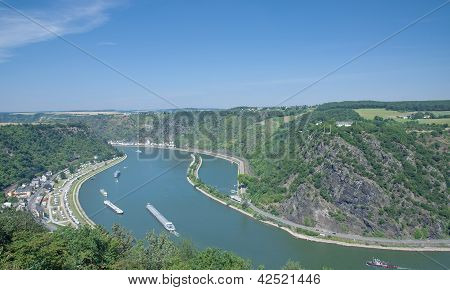 Loreley,Rhine River,Germany
