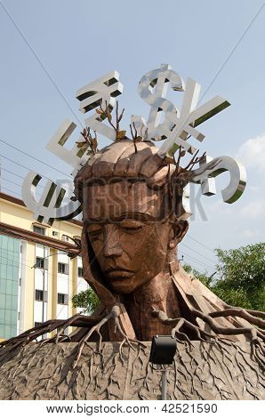 Mindspace Sculpture, Hyderabad
