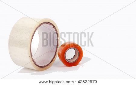 sellotape pile