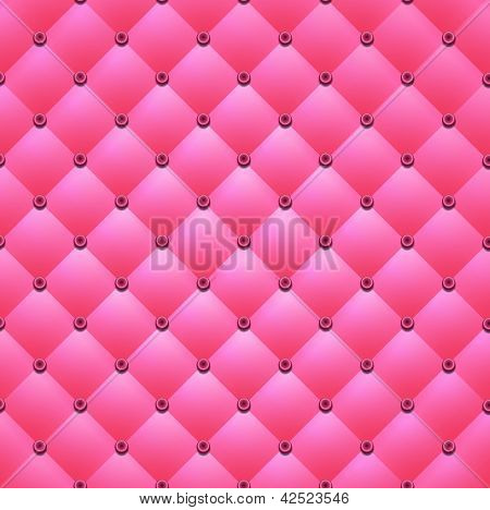 Pink background from squares and buttons