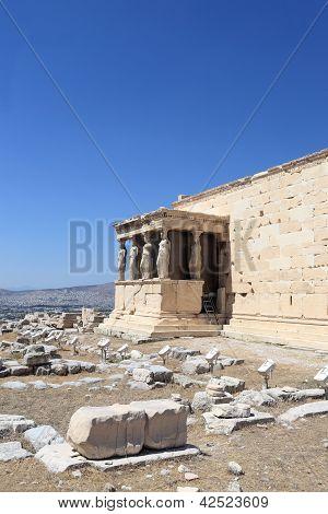 Details Of Erechtheum Temple