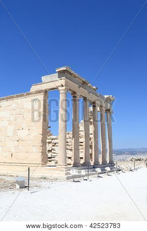 Part Of Erechtheum Greek Temple