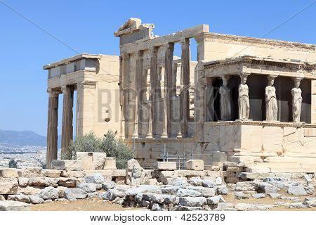 Part Of Erechtheum Temple