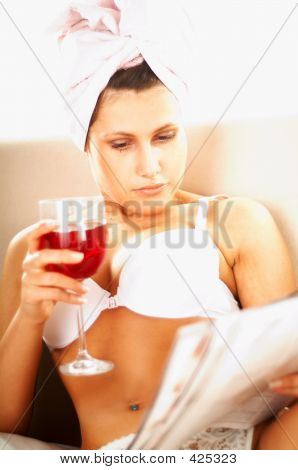 Women With Wine