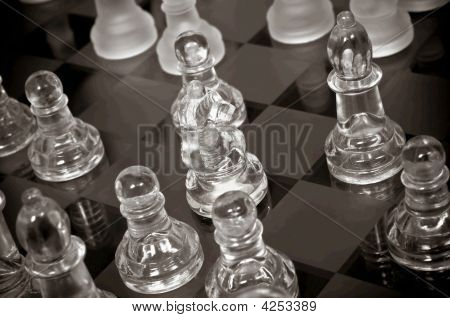 Close Up On Chess