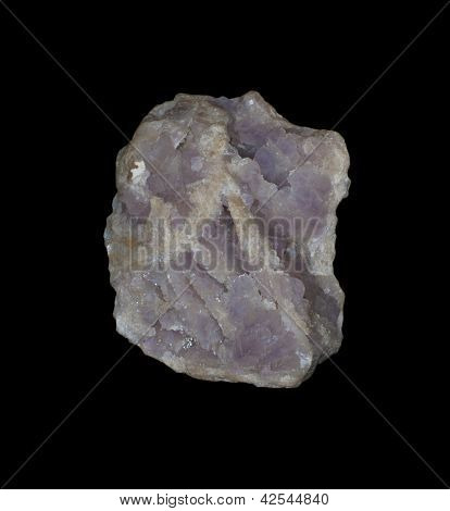 Amethyst, Calcite
