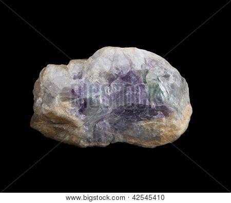 Fluorita púrpura
