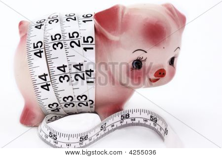 Measuring A Piggy Bank
