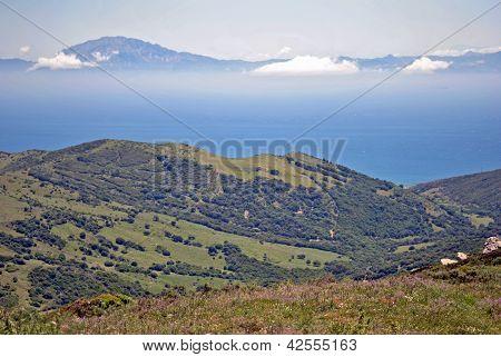 paisaje estrecho gibraltar