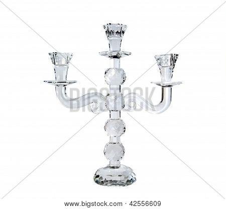 Cristal candlestick