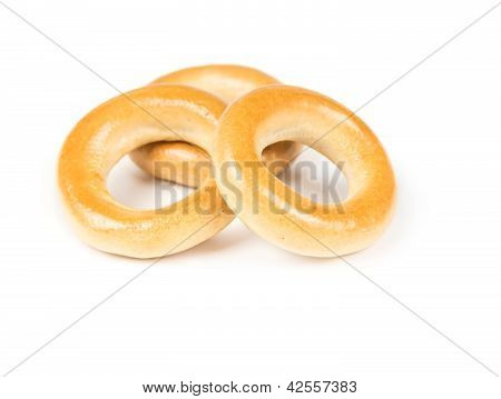 Three Dry Bagels