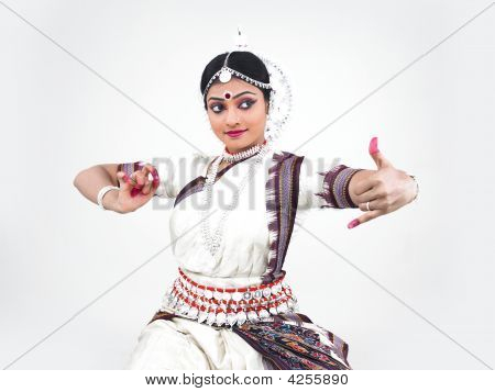 Indian Classical Female Dancer