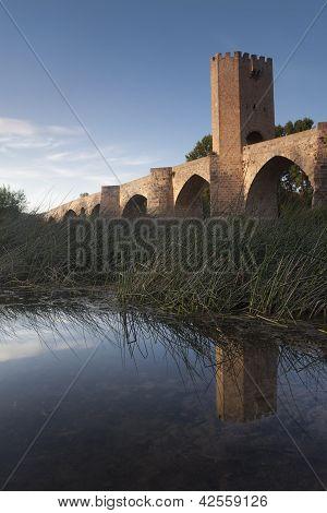 Bridge Of Frias, Burgos, Castilla Y Leon, Spain