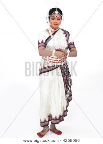 Classical Female Odissi Dancer