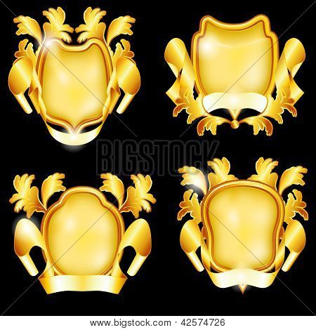 Four Golden Shields