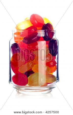 Candies In A Jar