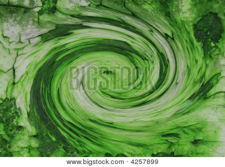 Grüne Galaxy