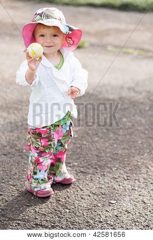 Little Fashionable Girl