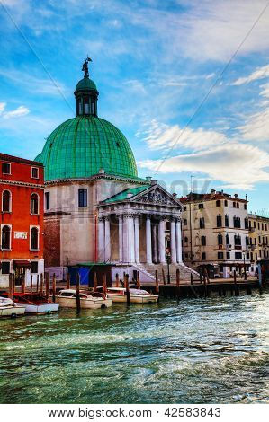 San Simeone Piccolo Church In Venice