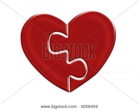 Matching Heart Halves