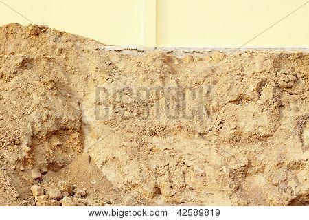 Pile Of Dry Soil