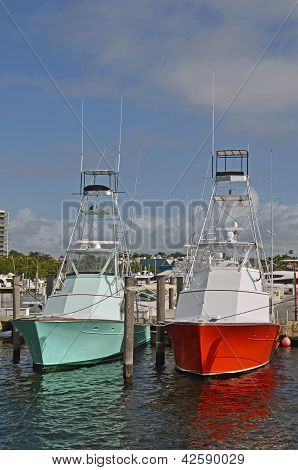 Sports Fishing Boats