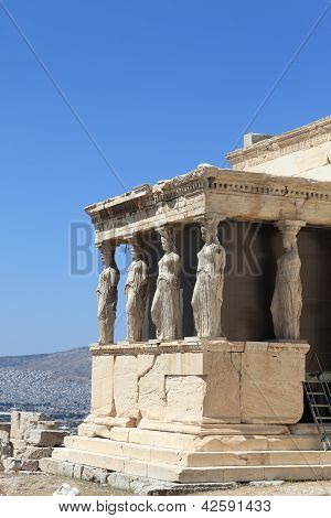 Sculpture Of Erechtheum